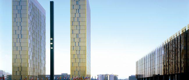 Luxembourg's ECJ third tower