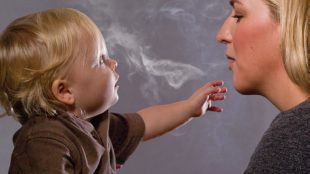 Mothers managing to kick smoking habit