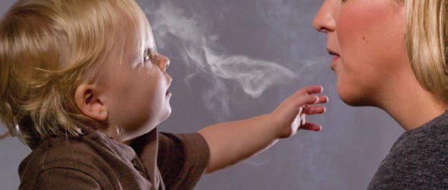 Mothers managing to kick smoking habit
