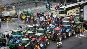 There will, more than likely, be chaos on the roads around Kirchberg on Monday as Belgian farmers plan a protests outside the European Convention Centre – Luxembourg (ECCL).