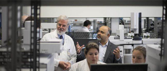 laboratory in Rio