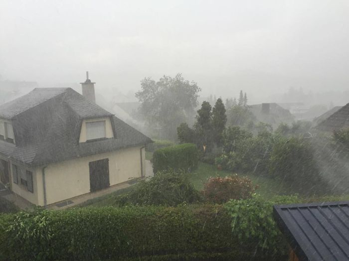 Storms strike Luxembourg