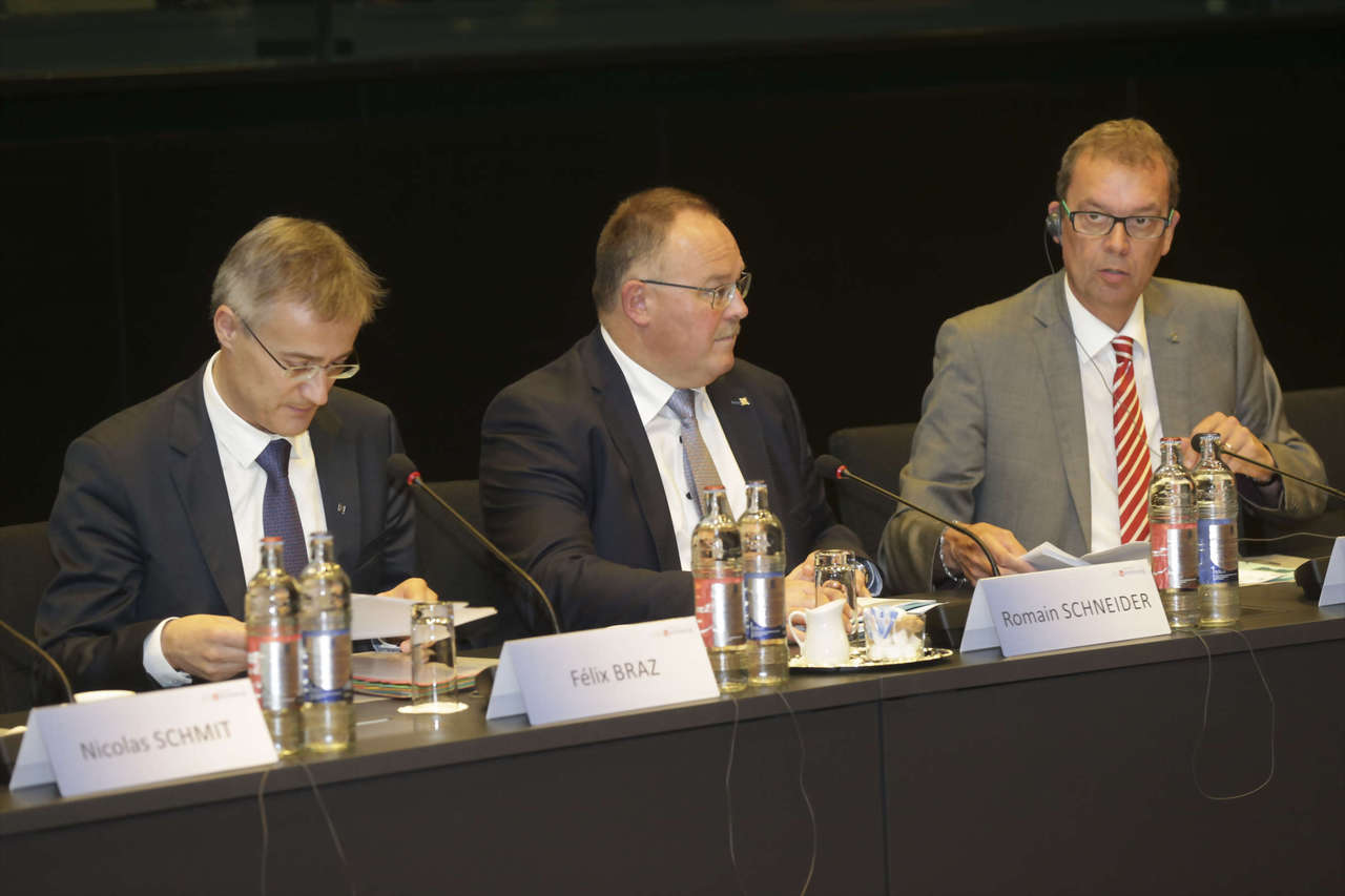 Luxembourg Minister of Social Security, Romain Schneider