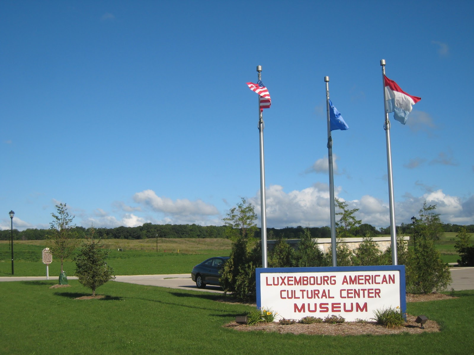 Sara Jacoby, Director of the Luxembourg American Cultural Society & Center (LACS) in Wisconsin