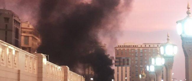 Saudi Arabia holy site suicide