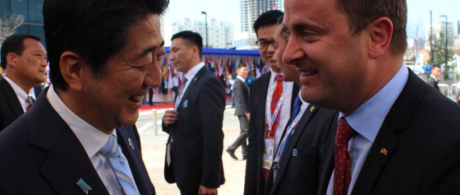 Xavier Bettel Visits Cardiology Hospital in Mongolia