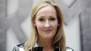 """Harry Potter"" author JK Rowling"
