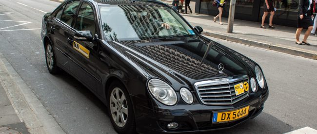 Luxembourg taxi