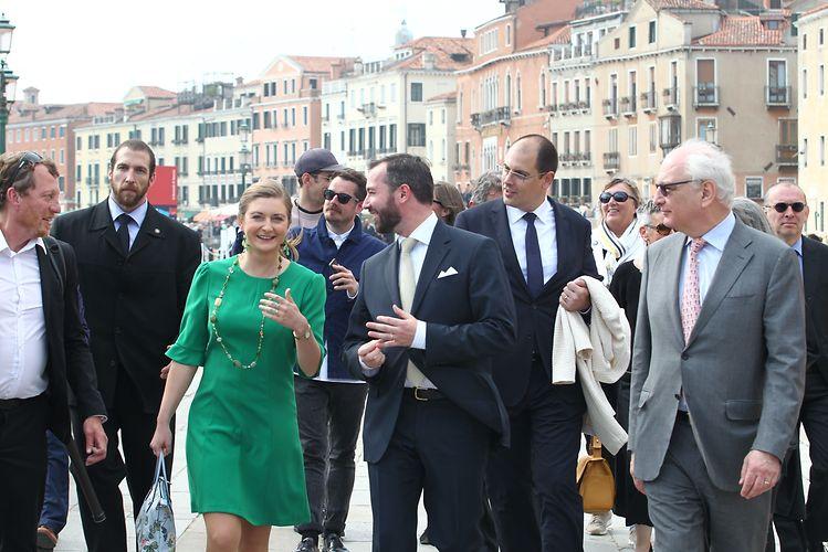 Hereditary Grand Ducal couple