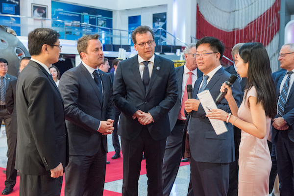 Luxembourg Delegation Visits China