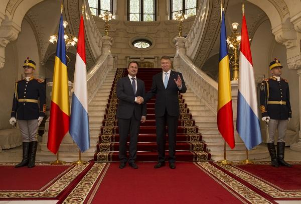 Visite officielle du Premier ministre, ministre d'État, Xavier Bettel, en Roumanie, du 16 au 18 juin 2017