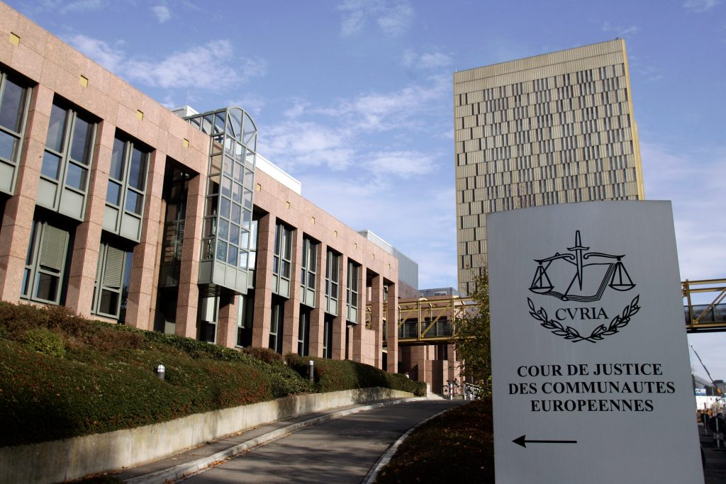 EU court in Luxembourg