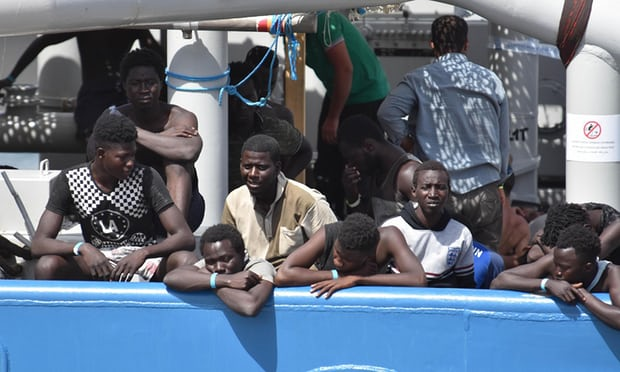 Mediterranean rescue boat