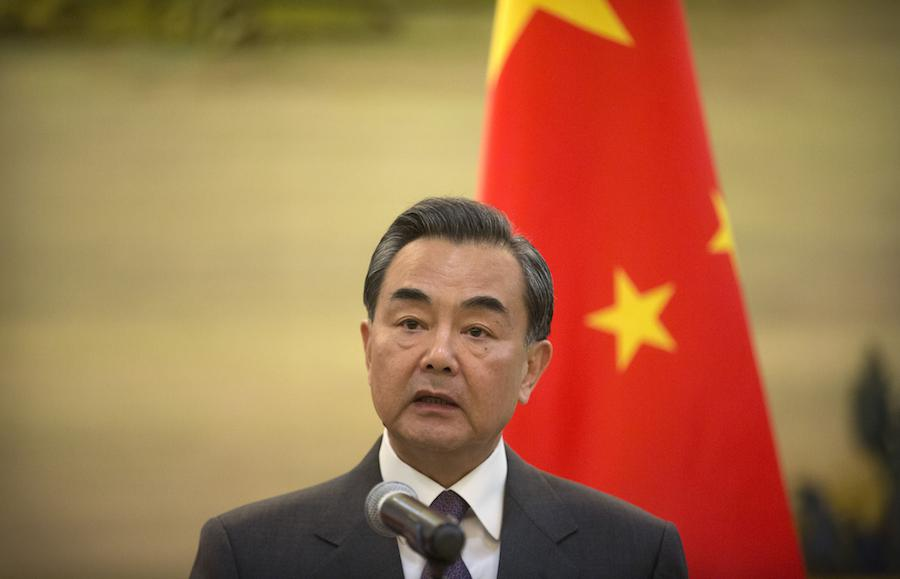 China's foreign minister