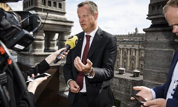 Sweden's interior minister Anders Ygeman