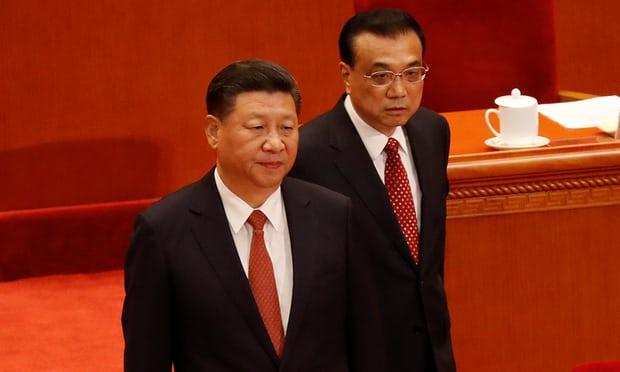 Xi Jinping and Premier Li Keqiang