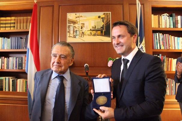 Xavier Bettel Honoured by Raoul Wallenberg Foundation