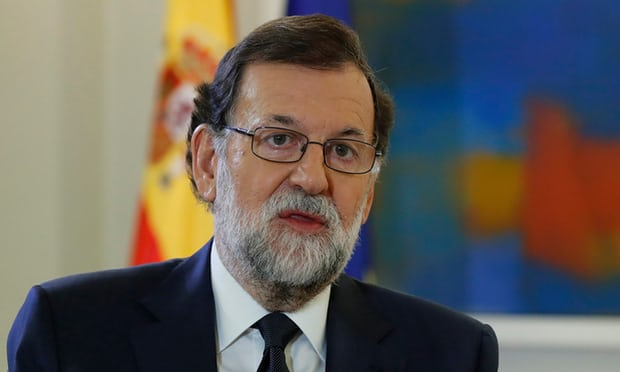 The Spanish prime minister, Mariano Rajoy