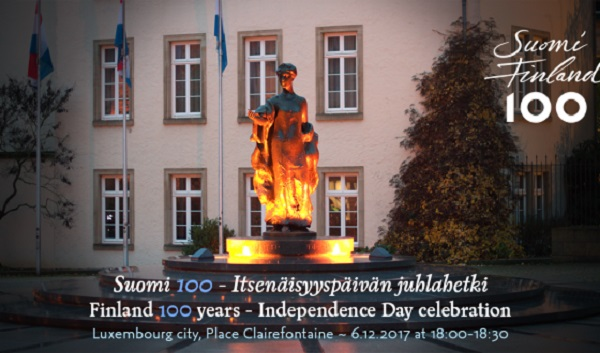 Luxembourg's Finnish Community to Celebrate 100 Years of Independence