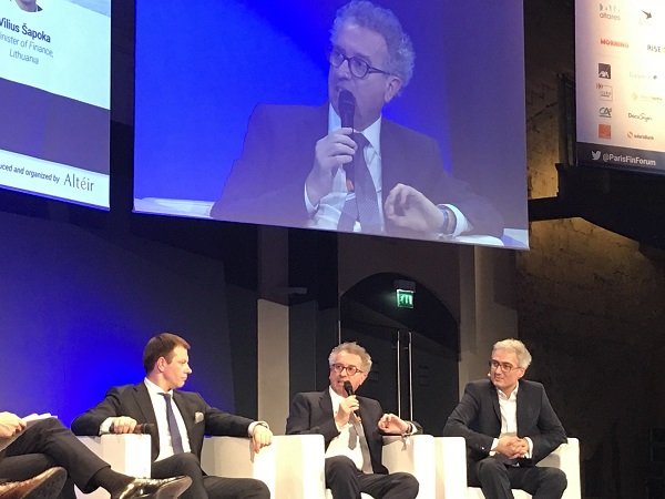 Pierre Gramegna au «Paris Fintech Forum»: Franc succès pour la Fintech «made in Luxembourg» (30-31.01.2018)