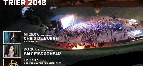 Chris De Burgh Amy Macdonald Will Perform In Trier Luxembourg