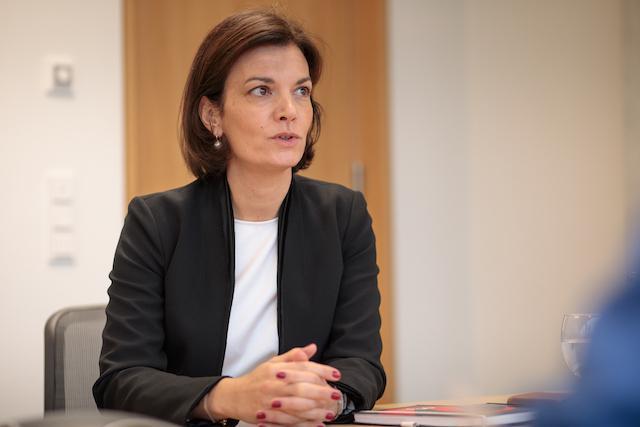 Julie Becker, pictured in 2019